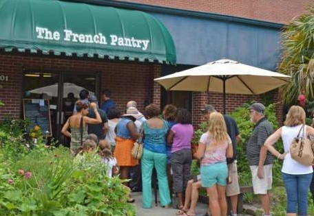 Long lines are worth the wait at The French Pantry for lunch.